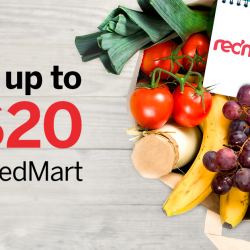 [American Express] You still have time to enjoy up to S$20 savings with RedMart.