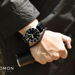 [Gnomon Watches] The Damasko DSub1 is the first dive watch introduced by Damasko and made exclusive to Gnomon Watches.