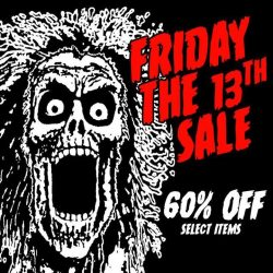 [Iron Fist Clothing] Friday The 13th Sale - 60% OFF Select Items