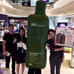 [COSMETICS & PERFUMES BY SHILLA] Discover Mega-Mushroom Soothing Treatment Lotion with Sea Buckthorn.
