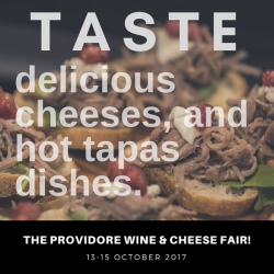[The Providore] Counting down to our first ever wine and cheese fair!