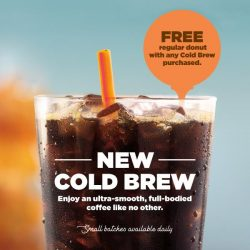 [Dunkin' Donuts Singapore] Cold Brew — it's finally here!