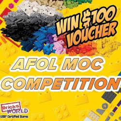 [Bricks World (LEGO Exclusive)] AFOL MOC CompetitionDid you miss our last 2 AFOL MOC Competition?