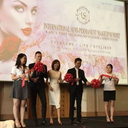[Allure Beauty Saloon] Allure Beauty honored to be a participant as Singapore's representative in International Semi Permanent Make-Up Summit Abozacademy Singaporefirst