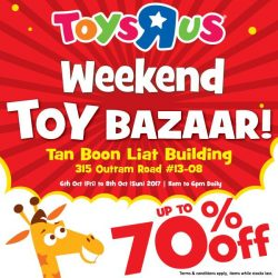[Babies'R'Us] Last day of our Weekend Toy Bazaar at Tan Boon Liat Building!