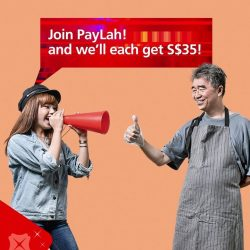 [DBS Bank] Trying to get your favourite hawker uncle to accept PayLah!