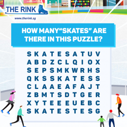 [THE RINK] Be one of the 18 lucky winners to WIN dining vouchers from The Rink!