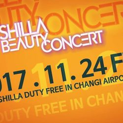 [COSMETICS & PERFUMES BY SHILLA] Hands up if you can't wait for SHINee to be back in Singapore!