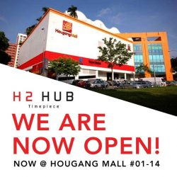 [H2 Hub] We are proud to announce that we are now at Hougang Mall.
