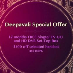 [Singtel] Celebrate Deepavali with the best Indian entertainment for less!