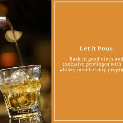 [Harry's Bar] From your personalised locker to 15% F&B discount and priority reservations - our exclusive whisky membership programme at Harry's