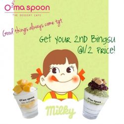 [O'ma spoon Korean Dessert Cafe] Mid-Autumn Promo is happening @o'ma spoon!