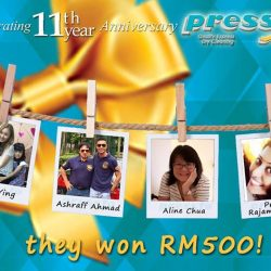 [Pressto Dry Cleaning] Congratulations to our NEW Winners who have just WON RM500 worth of vouchers!