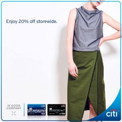 [Citibank ATM] Score the best deals at IN GOOD COMPANY with your Citi Credit Card.