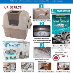 [Pets Kampong] Come check out our innovative Smartsift toliet cat litter for our purrry friends.