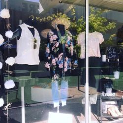 [Mico Boutique] Thanks to Maddie from RMIT for decorating our window 💕 We think it looks great!