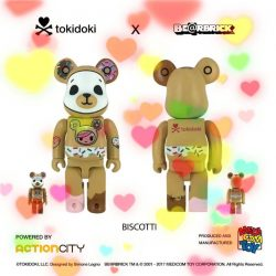 [Action City] Following the overwhelming response for tokidoki BE@RBRICK Adios 100% and 400%, we are delighted to announce tokidoki BE@RBRICK (