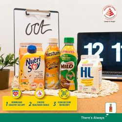 [7-Eleven Singapore] Pick up one of these healthier choice drinks at 7-Eleven to power through your day the healthier way!