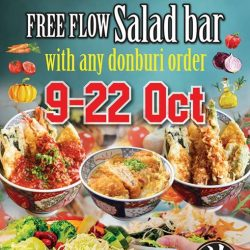 [Ramen Champion Singapore] Join us for last 3 days of Complimentary FREE FLOW Salad Bar at Don Meijin Bugis+ outlet!