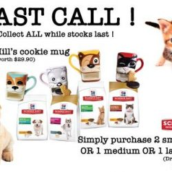 [Pet Lovers Centre Singapore] Hey Pet Lovers, would you like to get a FREE Hill's Cookie Mug?