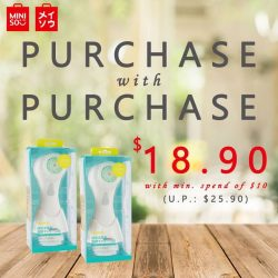 [Miniso] We are down to the last weekend of our Purchase with Purchase promotion!