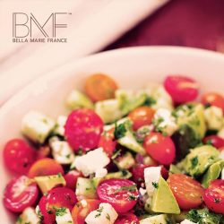 [Marie France Bodyline] Give your skin some tender loving care with this Avocado Tomato Salad recipe.