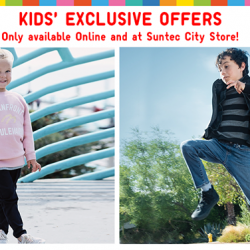 [Uniqlo Singapore] Our Suntec City store has expanded to carry a full Kids & Babies' Collection.