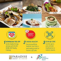 [Paradise Group] Turn your healthy habits into WIN!
