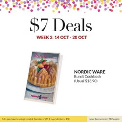 [ToTT Store] A Jamie Oliver Balloon Whisk, Westmark Mixing Bowl and Nordic Ware Bundt Cookbook all for $7 each only at ToTT?
