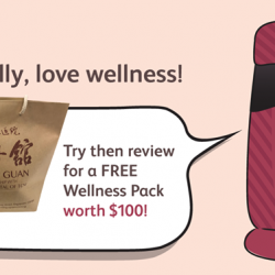 [OSIM] Get a FREE Well-Being Tea Pack and health screening package worth $100 when you try the uJolly at your
