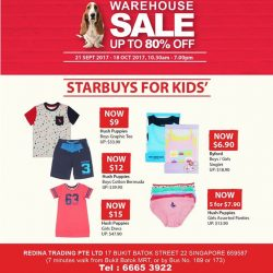 [Hush Puppies Singapore] Check out our starbuys and grab them now!