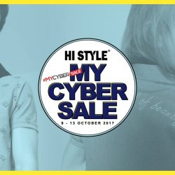 [HI STYLE] MYCYBERSALE x HISTYLE It's happening now !