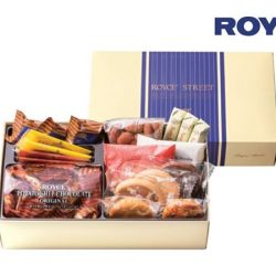 """[Royce'] ROYCE' Street """"Blue"""" is a sweet treasure box of Royce' containing our most popular chocolate and cookies."""