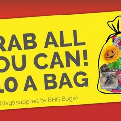 [BHG Singapore] Grab all you can in a bag for $10!