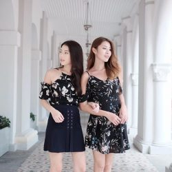 [MDS Collections] Swipe left | 3 different style to wear Freesia Cami Dress