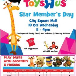 """[Babies'R'Us] Join us at the Toys""""R""""Us Star Members day for FREE activities and to meet your favorite characters!"""