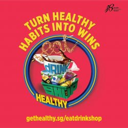 [Paya Lebar Square] Eat, Drink, Shop Healthy ChallengeWant to win at health and wealth?