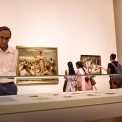 [UOB Bank] As part of our long-term support of art in the region, UOB has partnered with National Gallery Singapore to