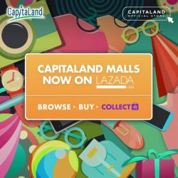 [Lazada Singapore] CapitaLand is officially on Lazada with launch promotions of up to 75% off!