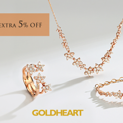[Goldheart Jewelry Singapore] Best of both worlds.