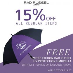 [Rad Russel] Kick off the month with a great promotion!