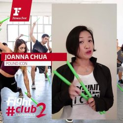 [Fitness First] FIGHTCLUB 2: With more than 10 years of experience in the fitness industry, Joanna Chua from Fitness First Team is