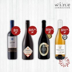 [Wine Connection] Tick, tock, time to shop.