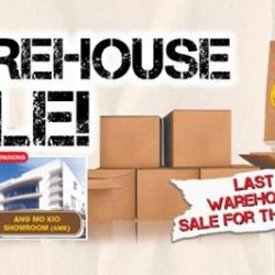 [Gain City] This is our last warehouse sales of 2017!