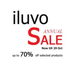 [ILUVO] iluvo online annual sale begins with up to 70% discount.