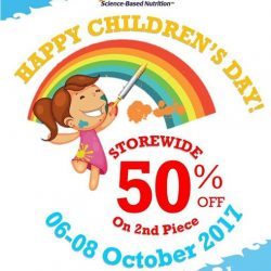 [VitaKids] Check out the sale at our partner store, Doctor's Best at Novena Square!