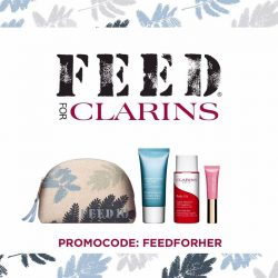 [Clarins] LAST CHANCE to feed children in need while you spend!