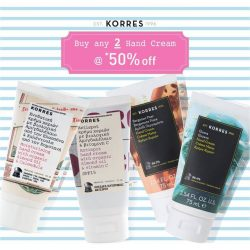 [KORRES] A moisturising, non-oily hand cream, ideal for everyday use.