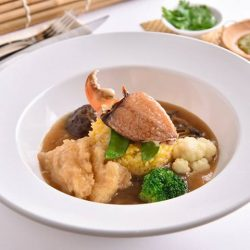 [Thai Village Restaurant] Introducing Braised Fish Maw Rice with Crab Claw only at SG Braised Rice at Food Opera at ION Orchard!