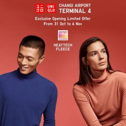 [Uniqlo Singapore] Going on a holiday?